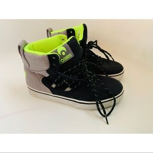 ☉ Osiris Neon high tops ☉